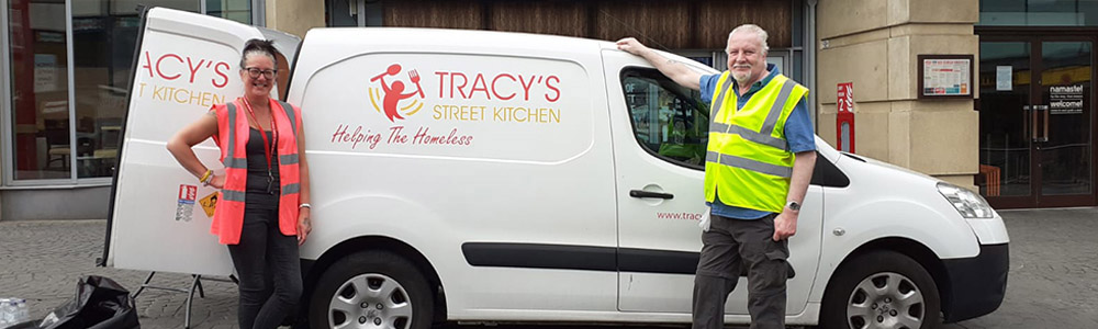 Tracy and Andrew, Co-founders of Tracy's Street Kitchen formed October 2016